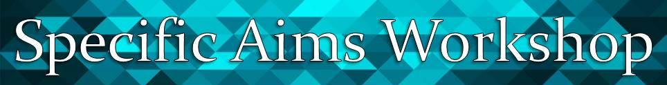 specific aims website banner crop title