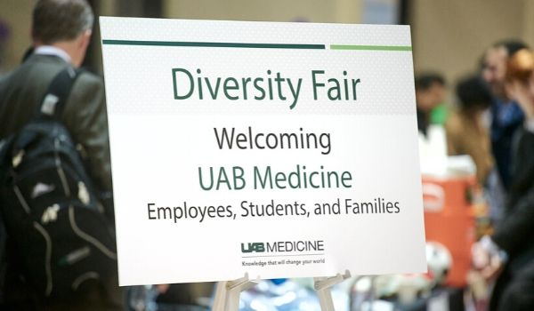 Welcome to the Diversity Fair Sign