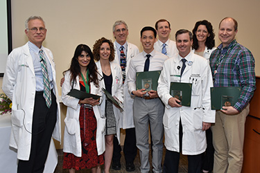 DOM Honors Faculty at 2018 Annual Reception