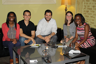 IM Residents Host Discussion Night