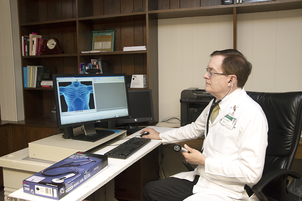Examine Critical Patients 90 Miles Away? Yes, We Can!
