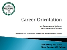 career orientation thumb