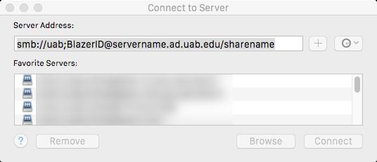 Server location