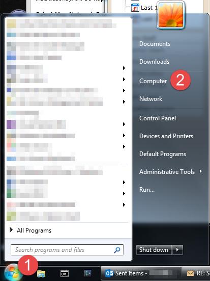 Open My Computer