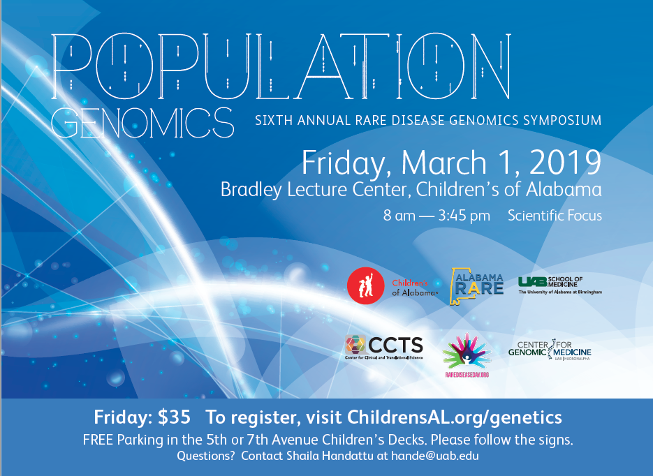 Rare Disease Genomics Symposium 3.1.19