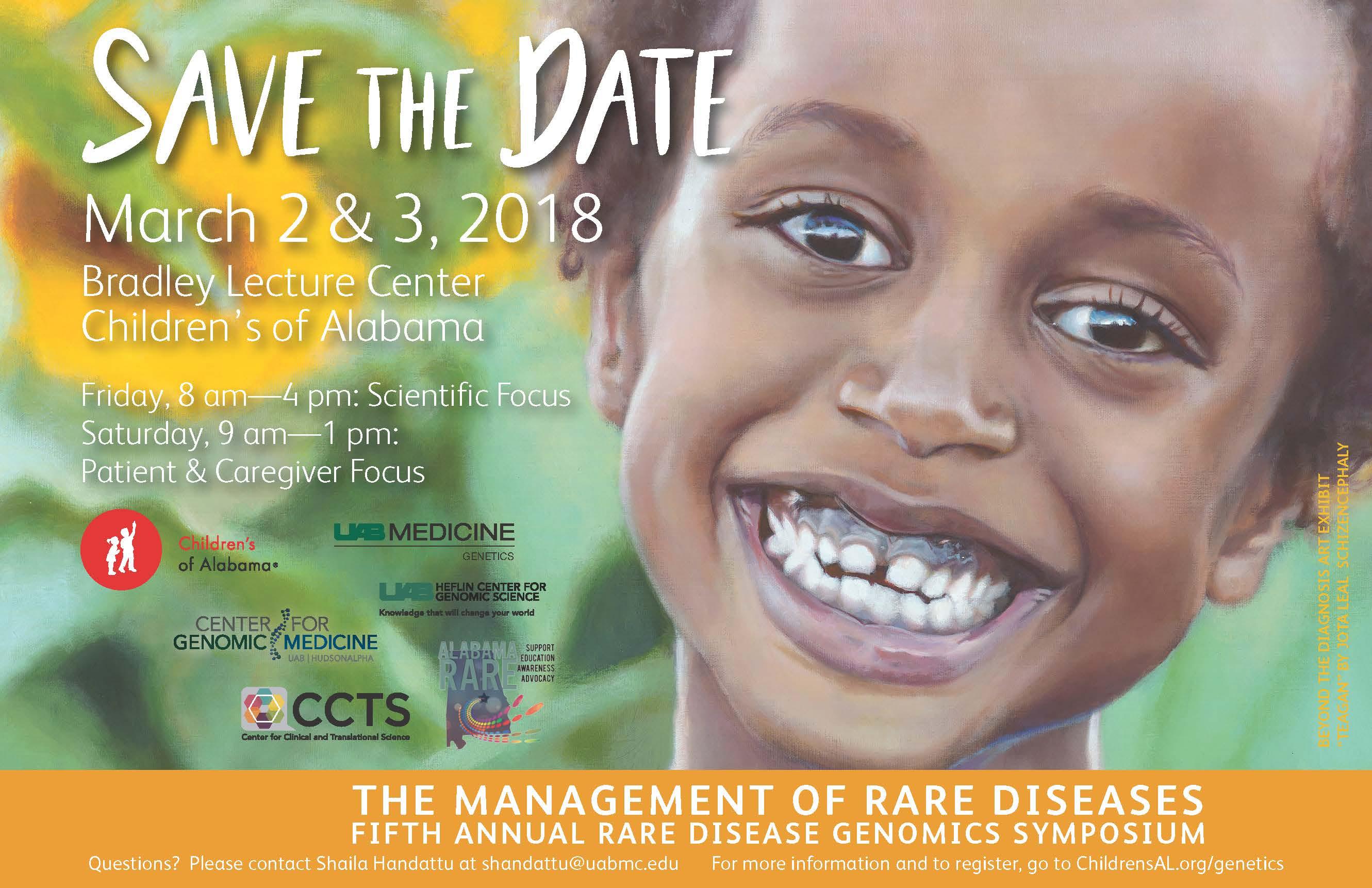 Rare Disease Symposium STD 2018