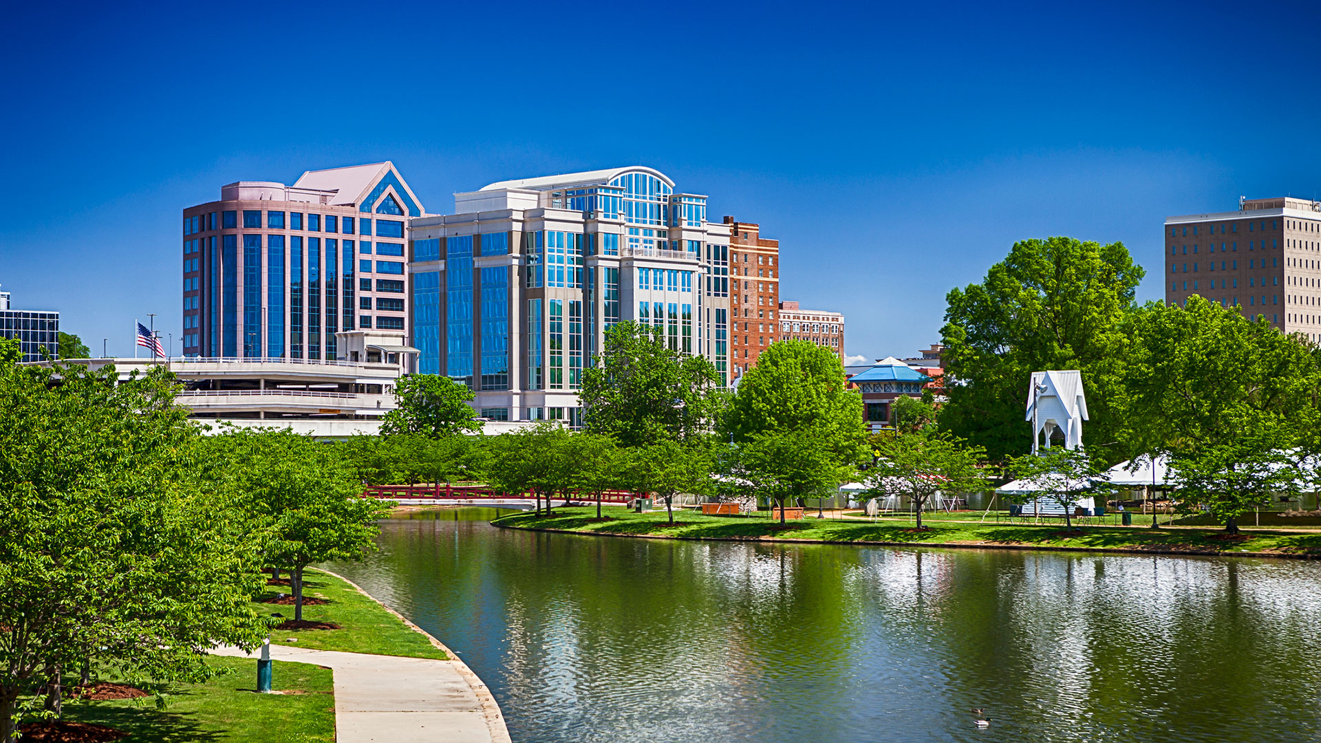 huntsville alabama city skyline