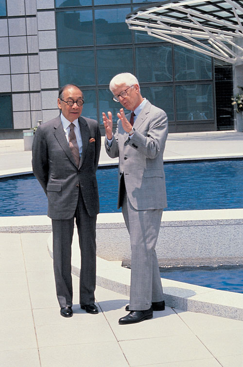 john kirklin and im pei