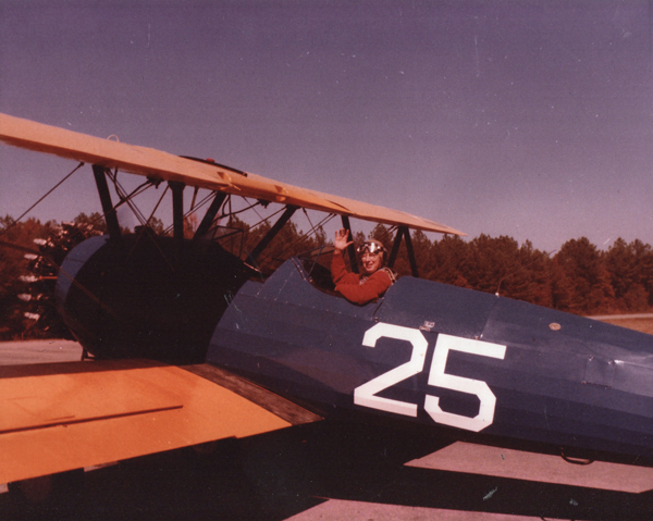 Jim Pittman in Stearman001
