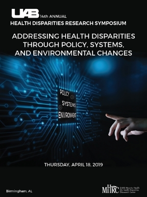2019: Addressing Health Disparities through Policy, Systems, and Environmental Changes