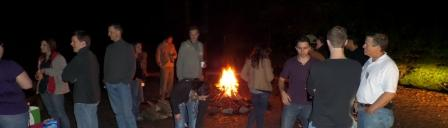 2013retreatcampfire