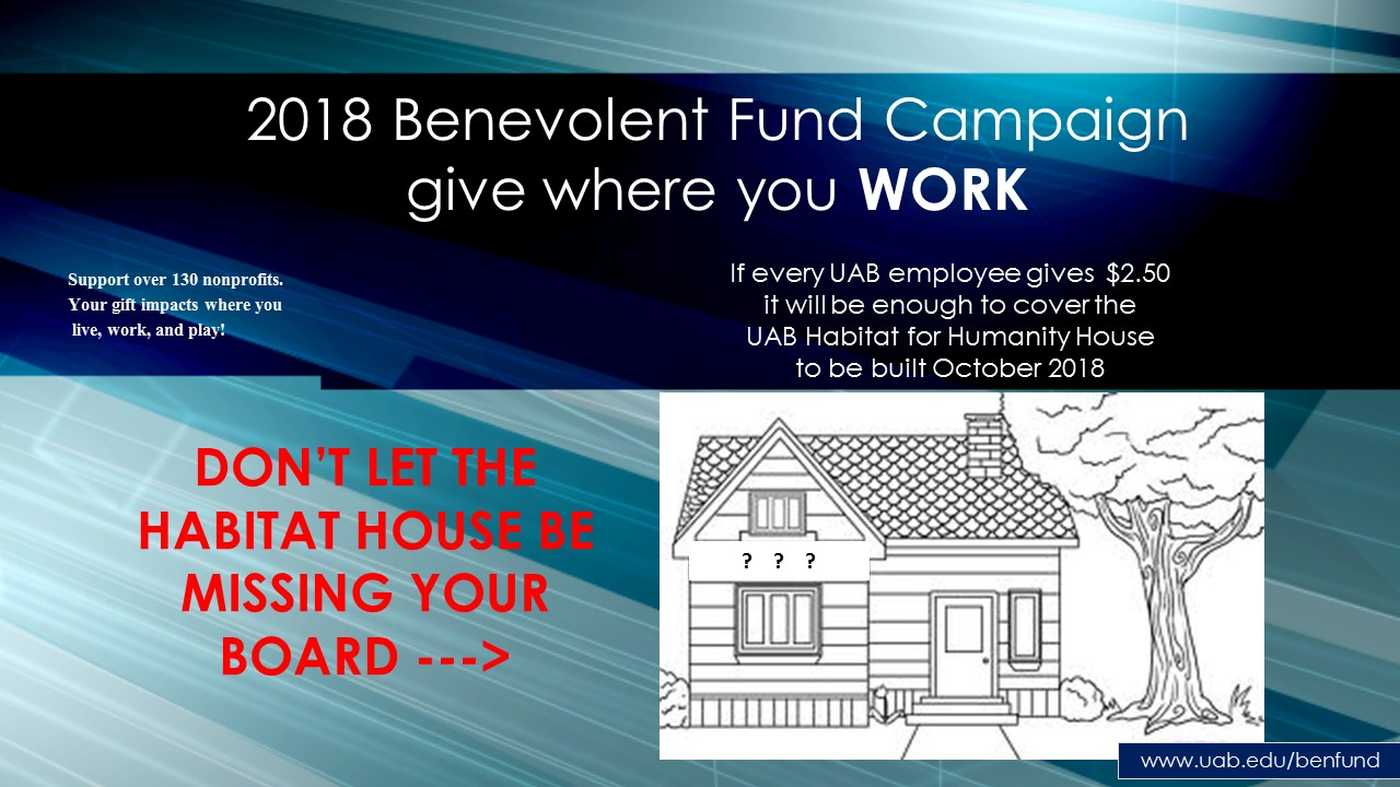 2018 Benevolent Fund Campaign