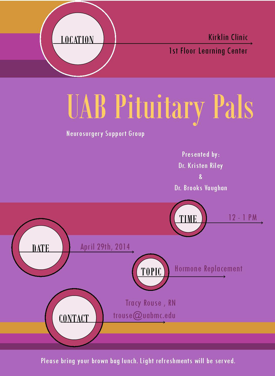 Pituitary Pals flyer 20140429