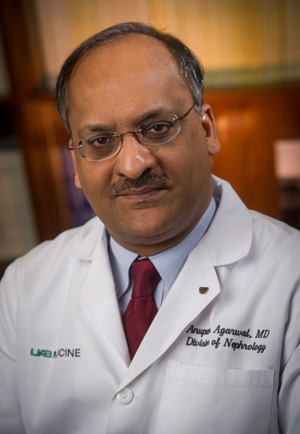 Dr. Anupam Agarwal, interim senior vice president and dean of the school of medicine