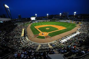 Regions Field at Night