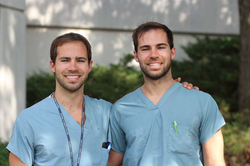 uab school of medicine news identical twin brothers will share