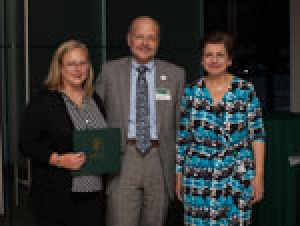 Promoted women faculty honored at annual reception
