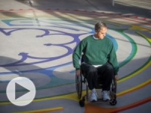 UAB adds to healing environment with a labyrinth