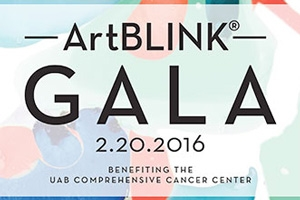 UAB Comprehensive Cancer Center to host ArtBLINK Gala 2016