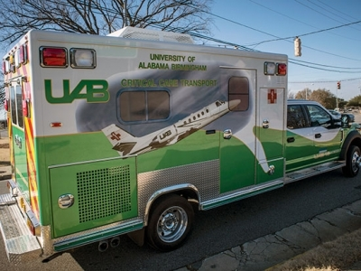 Now, THAT's an ambulance