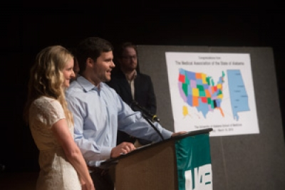 UAB celebrates successful medical student Match Day