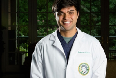 Kamal awarded second Sara Crews Finley, M.D. Endowed Leadership Scholarship