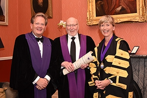 Whitley named Honorary Fellow by Royal College of Physicians of Ireland