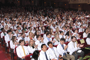 New medical students celebrated at 2019 White Coat Ceremony