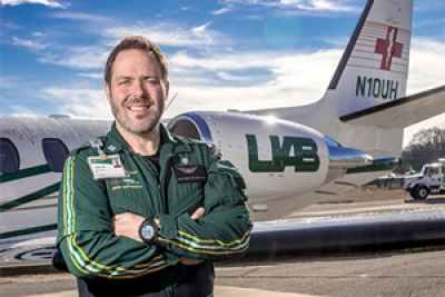 One nurse and 2,000 patients, a story of medical transport