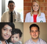 Spotlight on First Year Students Justin Kim, Meredith Thomley, Poojitha Balakrishnan, & Tony Meza