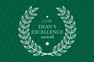 Eleven faculty members named winners of the 2016 Dean's Excellence Awards