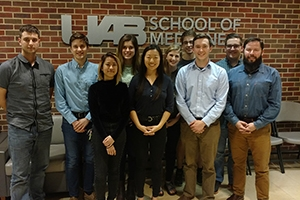 Undergraduate students compete in Dare to Diagnose competition