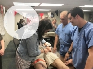 UAB trauma service brings Stop the Bleed training to Homewood High School