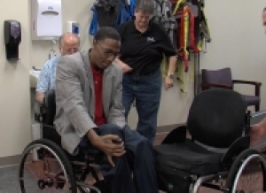 New program donates wheelchair to deserving recipient