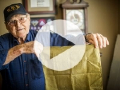 WWII vet, three-time Purple Heart recipient back on his feet after ambitious heart treatments, procedures