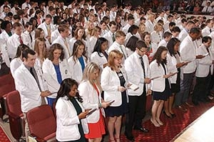 School of Medicine to welcome 2018 incoming class at annual White Coat Ceremony