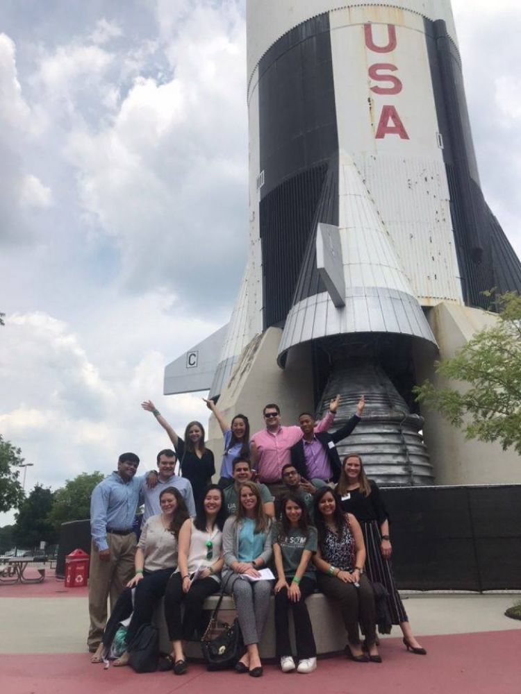 Harrison LC visiting the NASA Space and Rocket Center in Huntsville