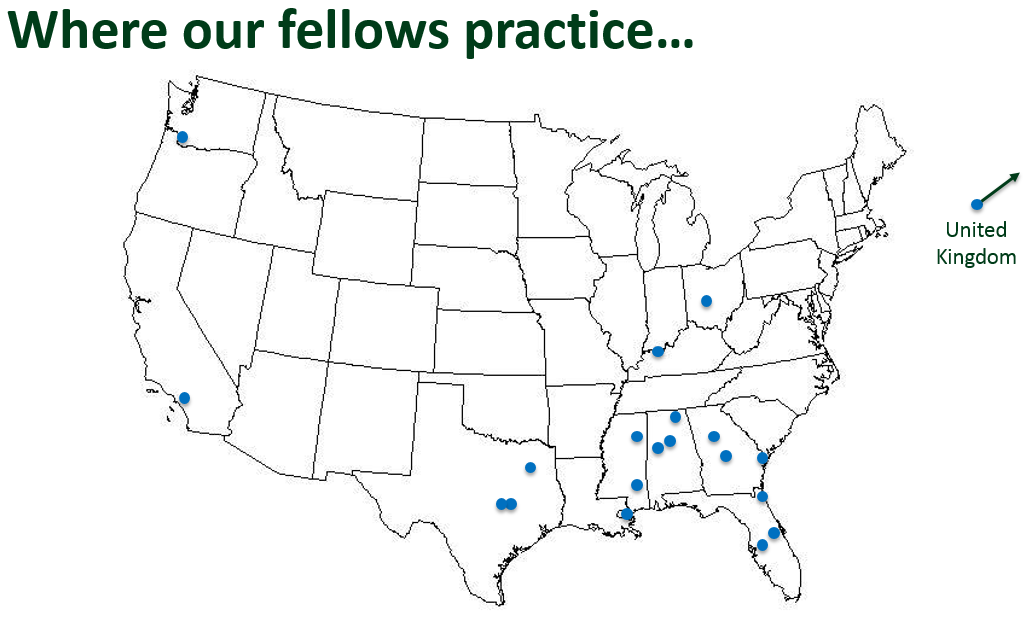 Where fellows practice