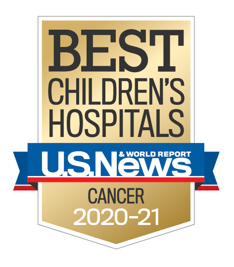 Badge ChildrensHospitals Cancer Year