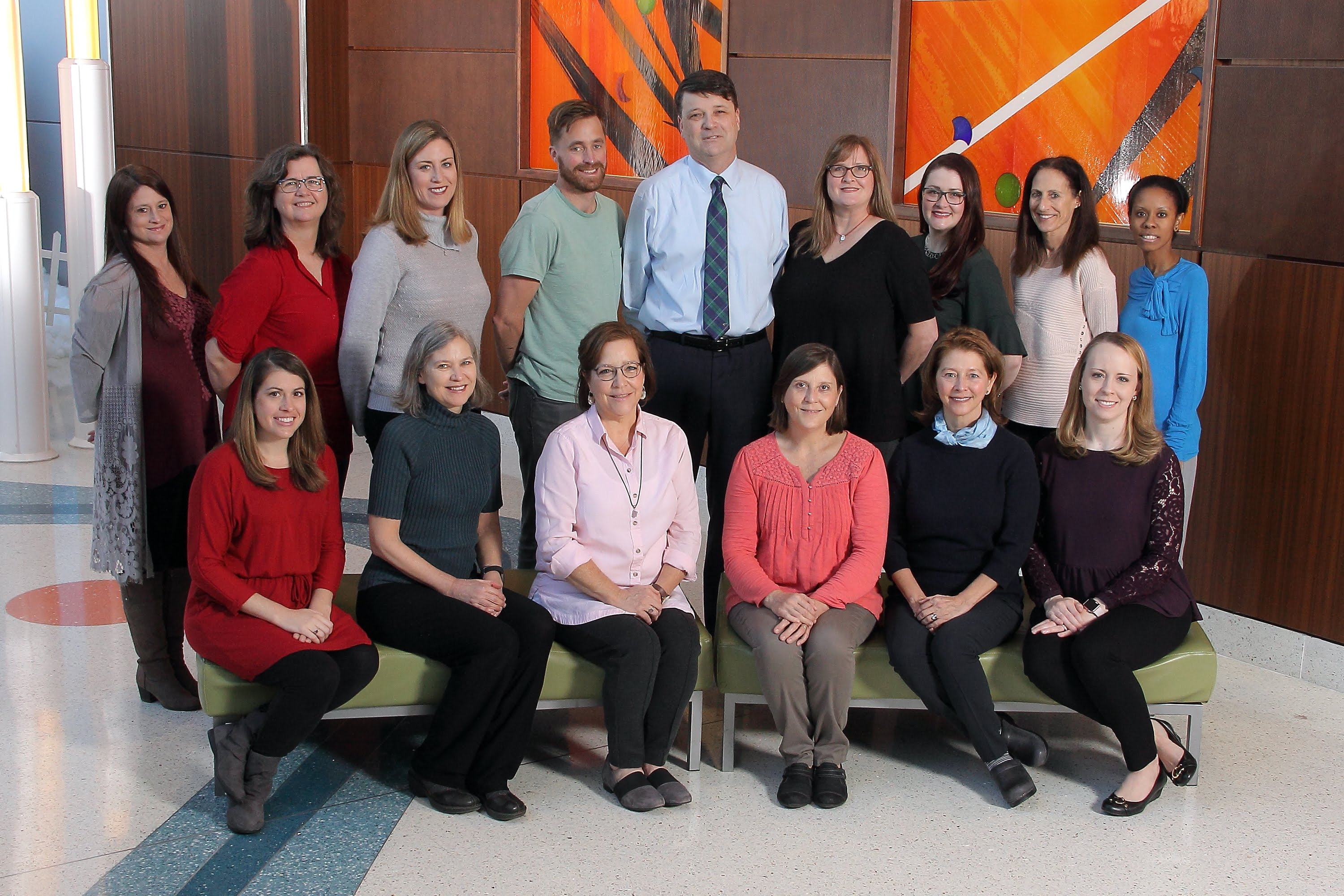 Academic Gen Peds Faculty Group Photo 2018