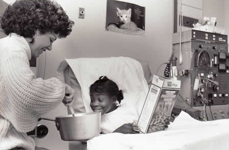 Snapshot of the Clinical Services at Children's Hospital in the 1970s