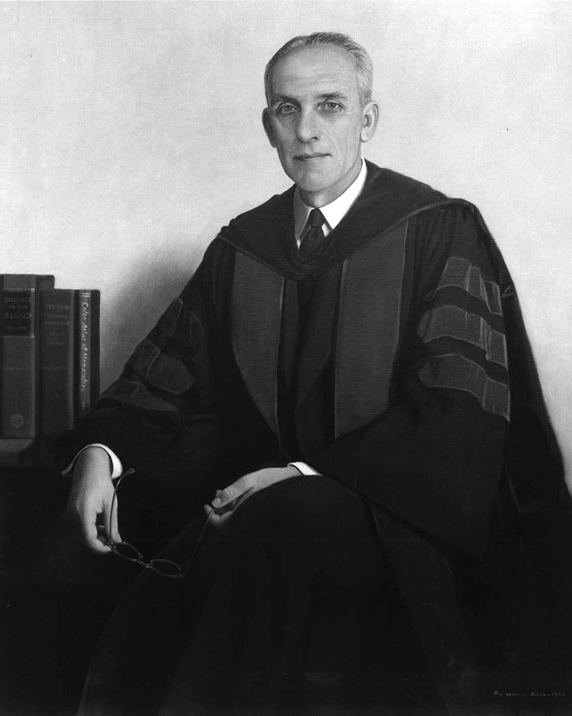 1944-Roy R. Kracke Becomes First Dean of the Medical School