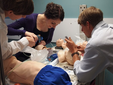 Laura A hugh intubation