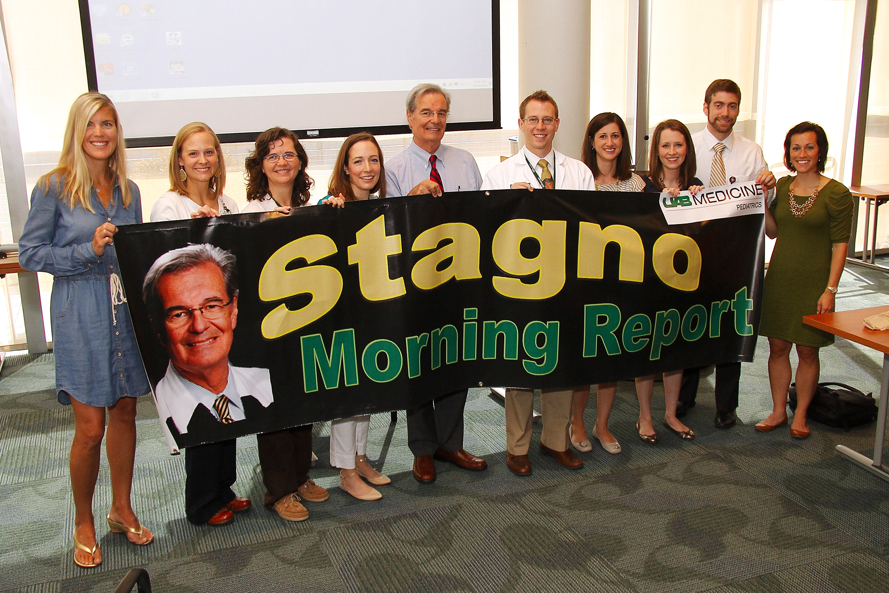 Stagno Report Dedication