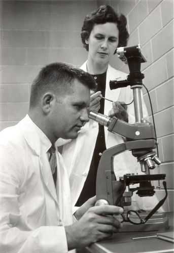 1962- Wayne & Sarah Finley Joined the Faculty