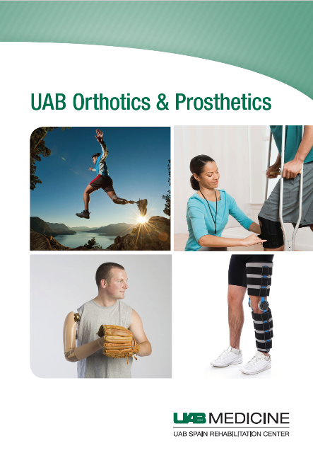 Orthotics and Prothetics Brochure