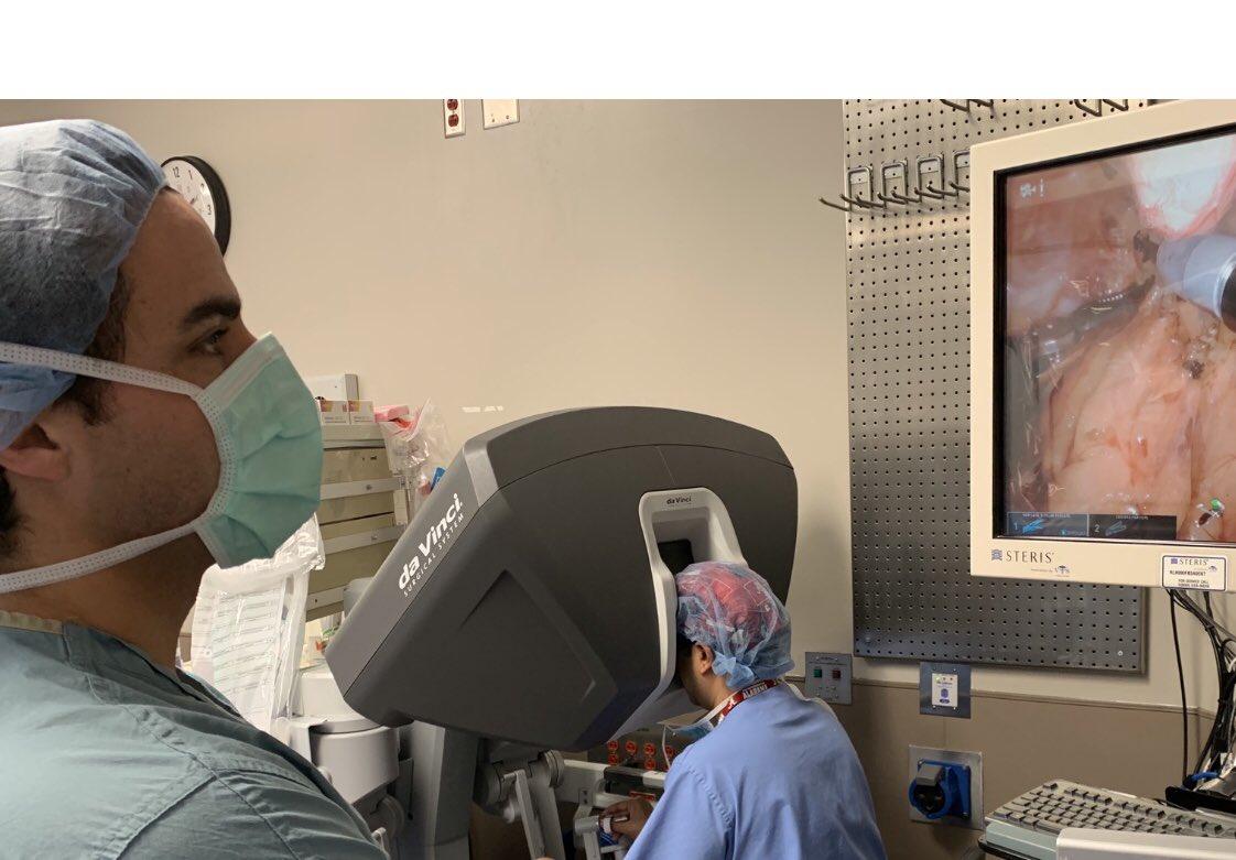 UAB - School of Medicine - Urology - Single Port Robot, First of its