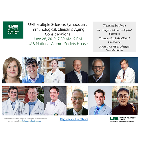 UAB Multiple Sclerosis Symposium: Immunological, Clinical, & Aging Considerations
