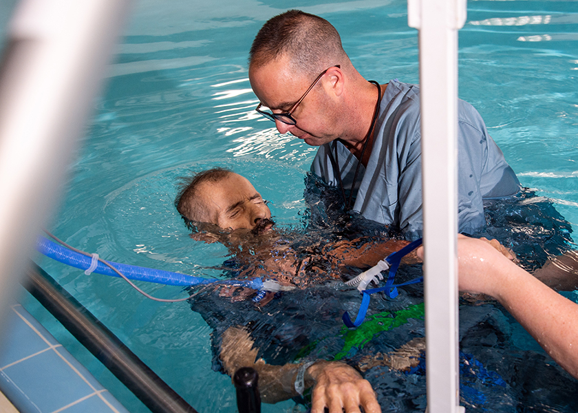 Man baptized in UAB pool with only days left to live ...