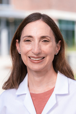 Laura Volpicelli-Daley, Ph.D., associate professor of neurology (Photo by: Lexi Coon)